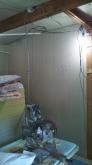 第1遮音壁と天井が出来上がりました。