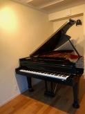 ピアノ搬入後のお写真を頂きました。 ありがとうございました。