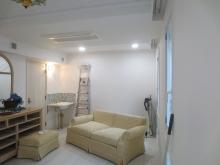 天井高もあり、白を基調にしているのでとても広く明るいお部屋に仕上がりました。