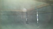 床下に束補強を行いました。