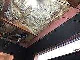 天井を解体しました。