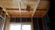 解体作業を行いました。 天井高は出来る限り高く計画をします。