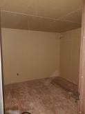 防音室の壁と天井が出来上がりです。