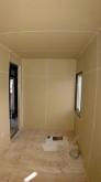 リフォーム工事が進み、弊社の木工事が始まりました。 躯体壁の遮音補強をしていきます。 浮き床を施工し躯体に触れないお部屋を内側につくっていきます。