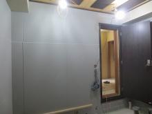 弊社の木工事が完了です。 本体工事に引き継ぎクロス工事などの内装を仕上げて頂きます。