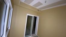 木工事完了です。 天井は吸音天井に仕上げています。