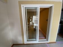 リビング側から樹脂サッシの掃き出し窓で開放感のあるお部屋に。。。