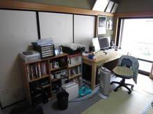 和室を改造しました。