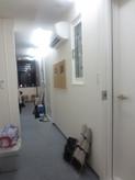 教室前の廊下です。