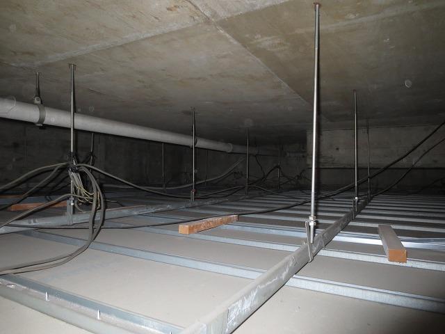 現地調査です。天井裏と床下を確認させて頂きました。