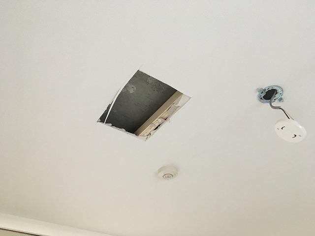 現地調査に伺い、天井裏などの確認をさせていただきました。