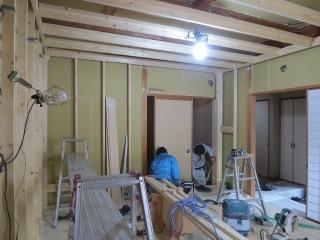 愛知県  日進市 戸建住宅 ピアノ・チェロ室 改修工事