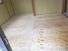 浮き床が完成しました。