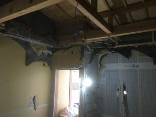 愛知県  安城市 戸建住宅 他社施工バンド室改修工事