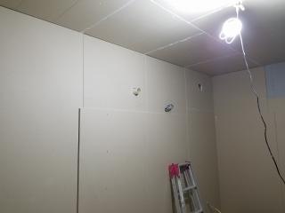 愛知県  刈谷市 戸建住宅 エレキベース室 新築ジョイント工事