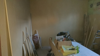 北海道  札幌市 戸建住宅 サックス室 新築ジョイント工事