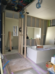 愛知県  豊明市 戸建住宅 レコーディングスタジオ新築ジョイント工事