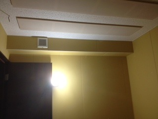 鹿児島県鹿児島市 ドラム室工事完了しました。