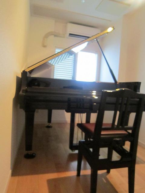 滋賀県大津市 ピアノ室改修工事完了しました。