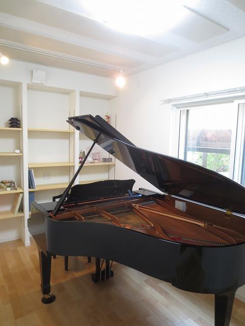 岐阜県岐阜市 ピアノ室改修工事完了しました。