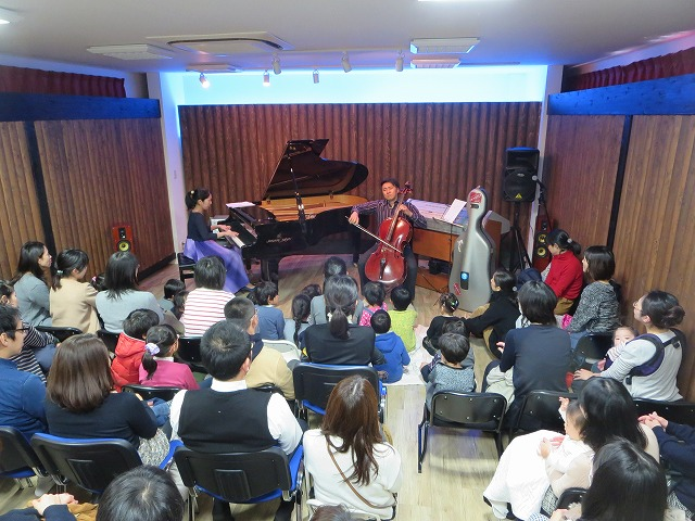 MSホール貸出で「新春チェロコンサート」が開催されました♪