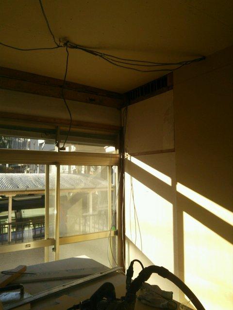 愛知県名古屋市 近隣騒音回避のための防音工事完了です。