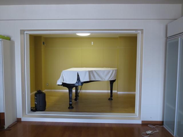 神奈川県横浜市 ピアノ教室 防音工事完了しました。