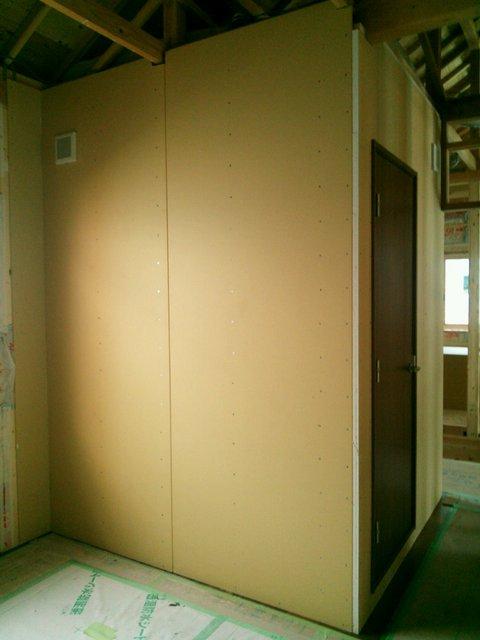 広島県広島市 サックス練習室 防音工事完了しました。