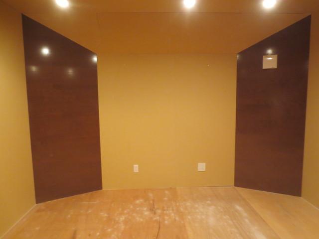 愛知県豊田市 リスニングルーム 防音工事完了しました。