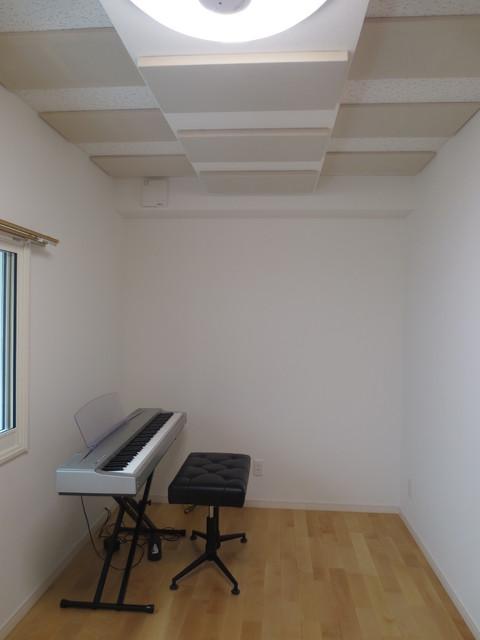 愛知県名古屋市緑区 ピアノ室 防音工事完了しました。
