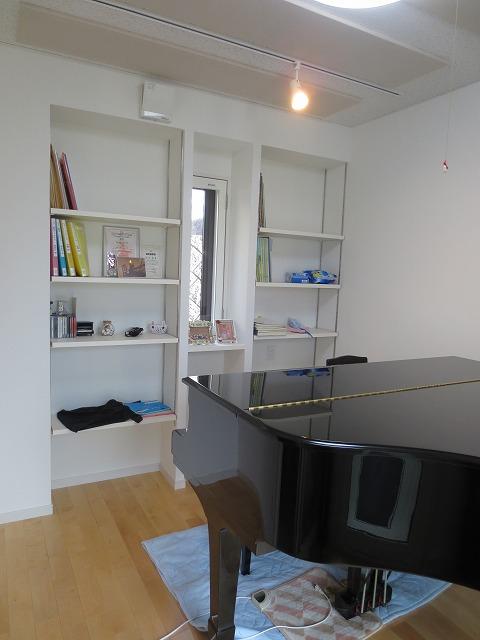 広島県広島市 ピアノ室 増築防音工事完了しました。