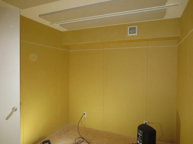 東京都杉並区 DTMスタジオ 防音工事完了しました。