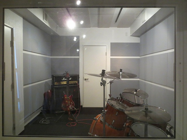 滋賀県長浜市 レコーディングスタジオ 改修工事完了です。