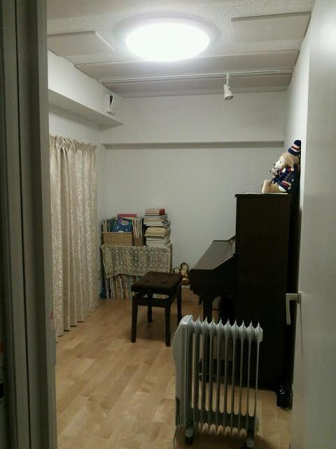 岐阜県岐阜市 ピアノ室 防音改修工事完了しました。