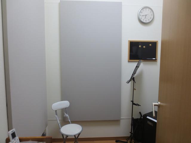 愛知県名古屋市  サックス・カラオケ室 改修工事完了しました。